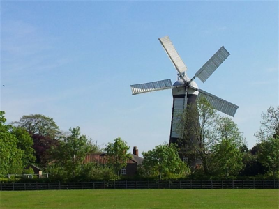 Five Sailed Mill Exterior