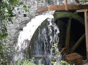 Waterwheel detail